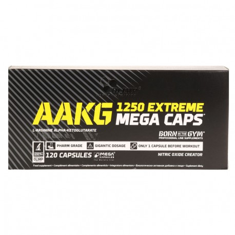 AAKG 1250 Extreme Mega Caps 120kaps.