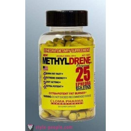 METHYLDRENE EPHEDRA 25